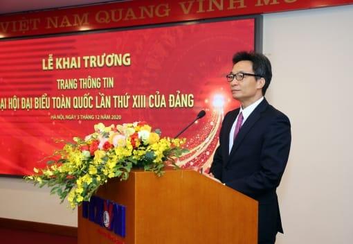 Thông tấn xã Việt Nam ra mắt Trang thông tin về Đại hội lần thứ XIII của Đảng