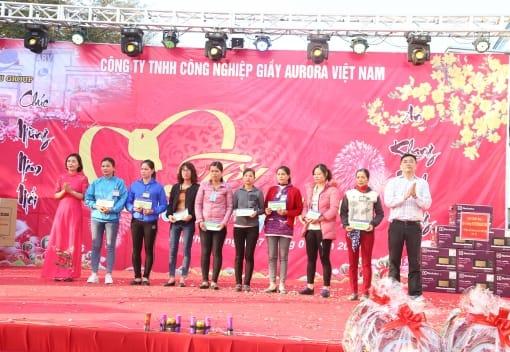 Công đoàn Công ty TNHH CN Giày Aurora Việt Nam: TĂNG PHÚC LỢI ĐỂ GIỮ CHÂN NGƯỜI LAO ĐỘNG