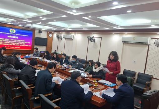Liên đoàn Lao động Quận Ngô Quyền tổ chức Hội nghị Ban Chấp hành lần thứ VII nhiệm kỳ 2018-2023
