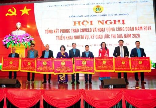 Hội nghị tổng kết phong trào CNVCLĐ và hoạt động Công đoàn năm 2019