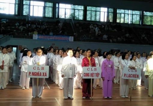 Giải Thái cực các CLB thành phố lần thứ VII năm 2017