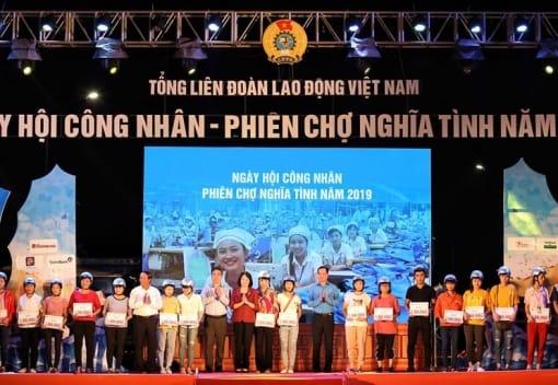 Tổng LĐLĐ Việt Nam tổ chức chương trình